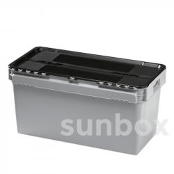 Cassetta omologata UN 90L (80x40x40cm)