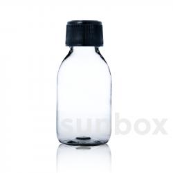 Flacone B-PET 125ml trasparente
