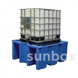 Vasche di contenimento senza retinatura 1 contenitore 1000litri