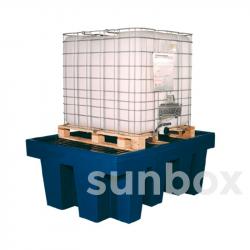 Vasche di contenimento con retinatura 1 contenitore 1000litri