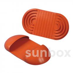 Presa di protezione in gomma siliconica