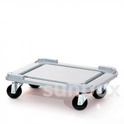 Ruote da trasporto per cassette S-Box 100L (62x50cm)