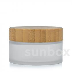 Barattolo di Vetro Satinato Bambú 100ML