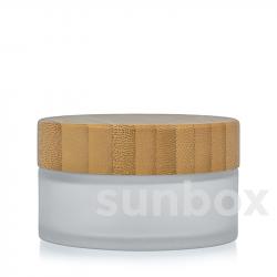 Barattolo di Vetro Satinato Bambú 30ML
