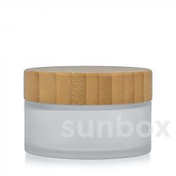 Barattolo di Vetro Satinato Bambú 50ML