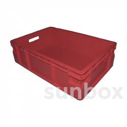 Cassetta NE impilabile (60x40x17cm) 35L Rosso