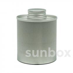 SCATOLA Alluminio 100ml a vite24