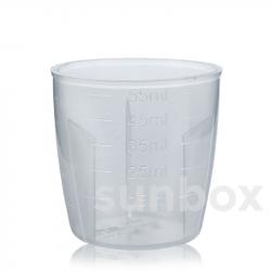 Bicchierino dosatore graduato 60ml per tappo in alluminio